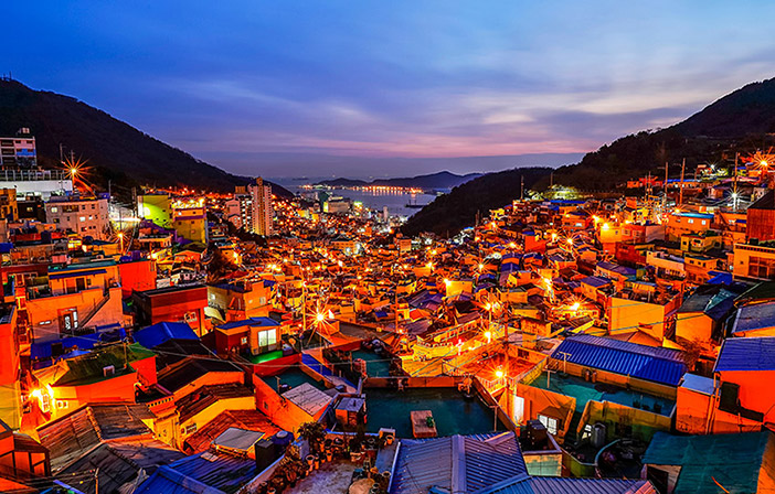 làng văn hóa gamcheon busan