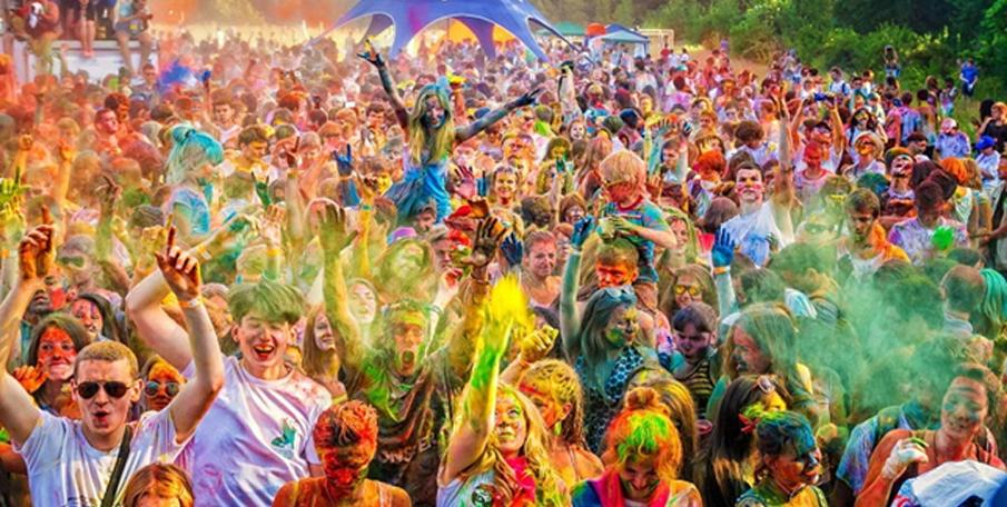 lễ hội red hill tại Nga