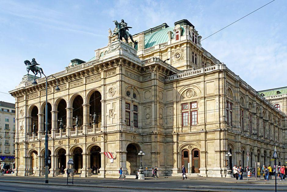 nha hat opera Vienna