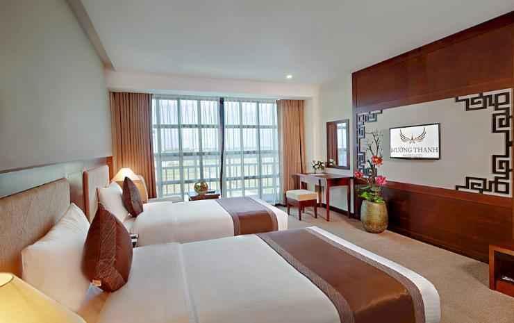 P;hòng deluxe hướng vườn Khách sạn Mường Thanh Hội An