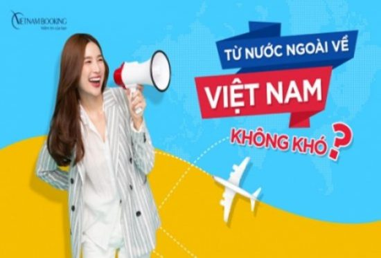 chuyến bay từ Châu Âu về Việt Nam