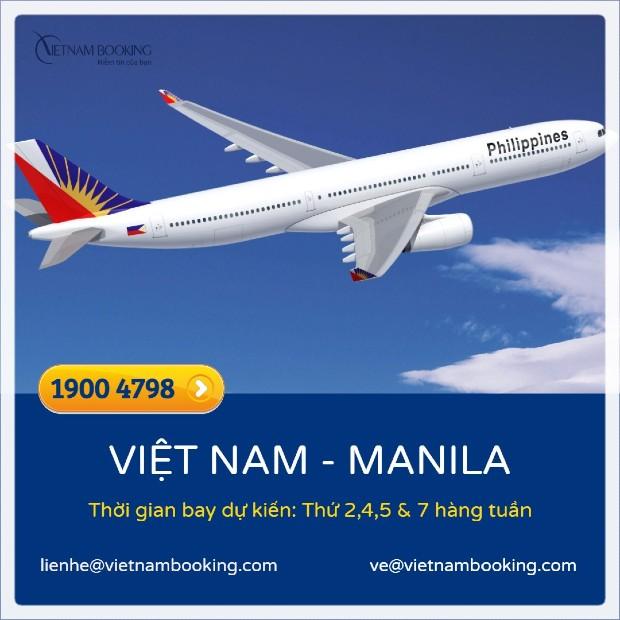 Các chuyến bay từ Việt Nam đi Philippines | HÔM NAY