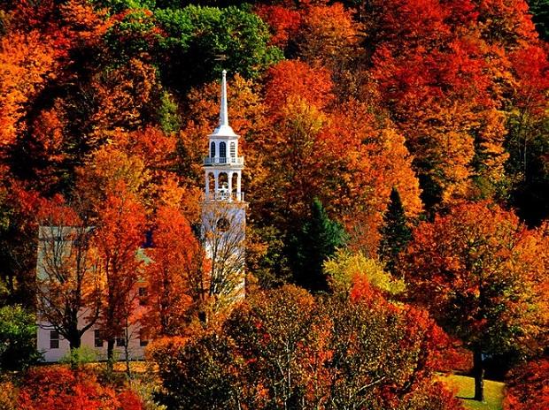 Ngẩn ngơ vẻ đẹp thiên nhiên mùa thu ở Mỹ